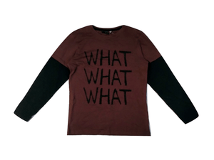 George Boys Oxblood Longsleeve T-Shirt
