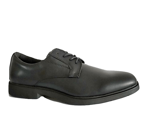 F&F Mens Airtred Formal Black Lace Up Derby Shoes