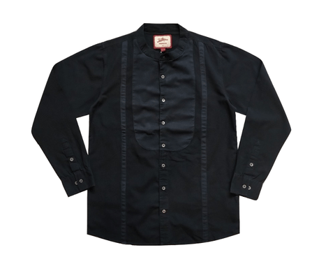 Joe Browns Mens Navy Pattern Detail Grandad Shirt