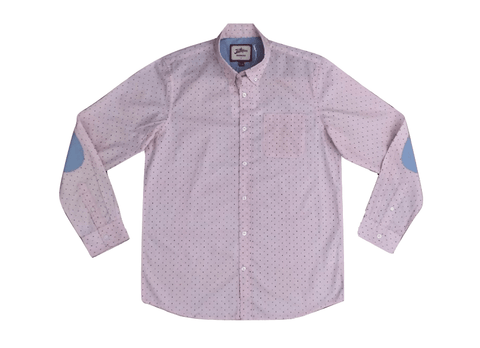 Joe Browns Mens Pink Polka Dot Shirt