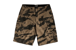 FOX Mens Brown Camo Combat Shorts