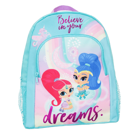 Shimmer & Shine Girls School Backpack