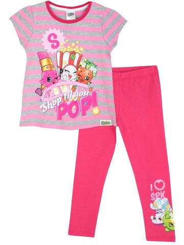 Shopkins Older Girls Top & Leggings Set
