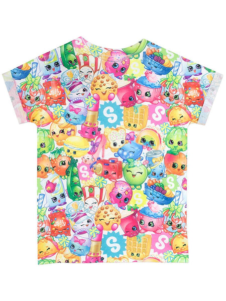 Shopkins Girls Multicolour T-Shirt - Stockpoint Apparel Outlet