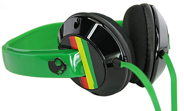 Skullcandy Uprock 2.0 On-Ear Rasta Headphones