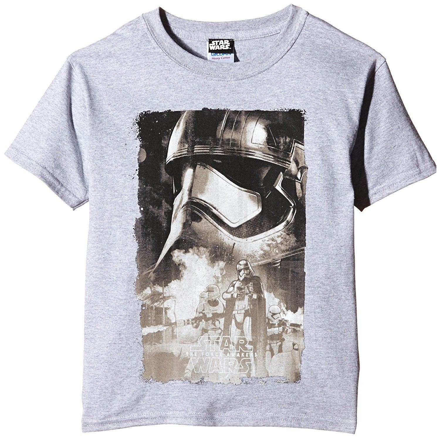 Star Wars Boys' VII Captain Phasma T-Shirt - Stockpoint Apparel Outlet