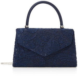 SwankySwans Womens Jena Clutch Navy