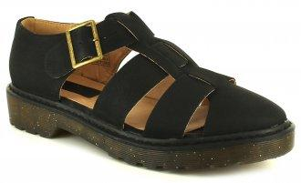 Topshop Heather Womens Black Sandals