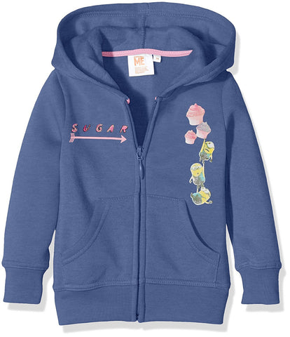 Universal Pictures Minions Blue Baby Girls Hooded Top
