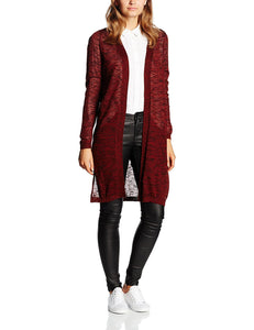 Vero Moda Women's Vmblacke LS Long Slit Noos Cardigan - Stockpoint Apparel Outlet