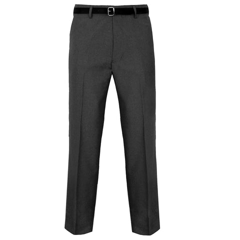 JBC Weaves Mens Trousers Casual Formal Work Comfort Pants With Belt