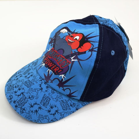 Radio Days Boys Official Mighty Mouse Power Baseball Blue & Navy Cap