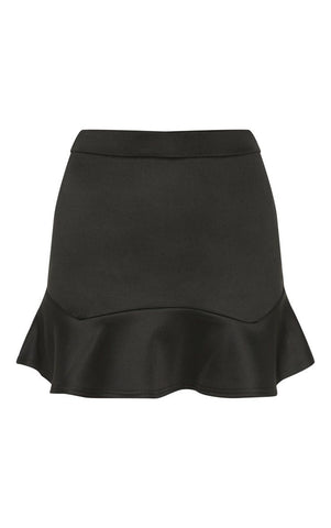 PrettyLittleThing Womens Verity Flippy Hem Mini Skirt
