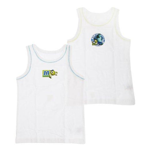 Disney Monsters University Baby Boys 2 Pack Cotton Vests