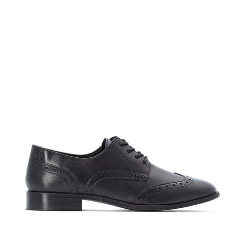 Castaluna Ladies Wide Fit Leather Brogues