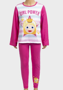 Emoji Girl Power Older Girls Pyjamas