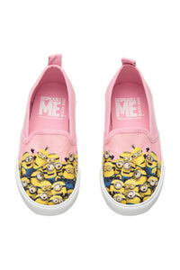 H&M Girls Minion Pink Slip-on Trainers