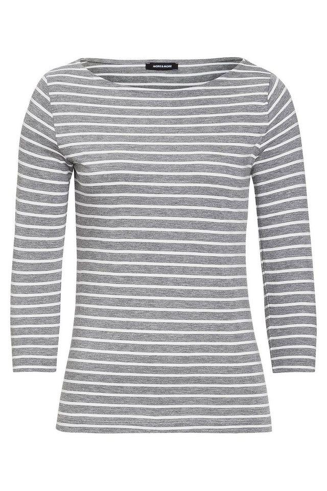 More & More Womens Ringelshirt Longsleeve Top