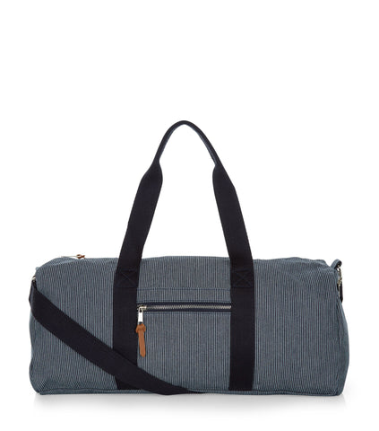 New Look Mens Navy Stripe Across Body Fergus Holdall