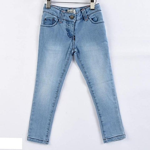 Original Penguin Baby Girls Blue Denim Jeans
