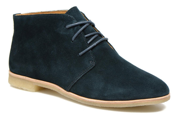 Clarks Originals Womens Phenia Midnight Suede Desert Boots