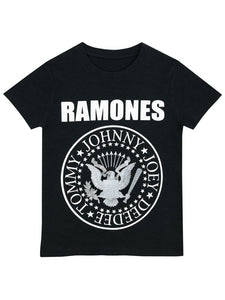 Ramones Boys Black T-Shirt - Stockpoint Apparel Outlet