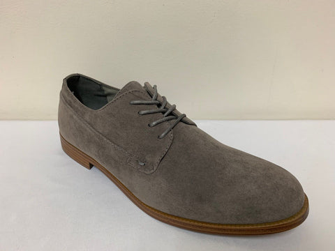 New Look Bermondsey Grey Lace Up Boys/Mens Derby Shoes