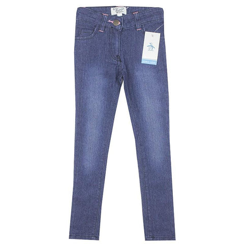 Original Penguin Girls Dark Blue Denim Jeans