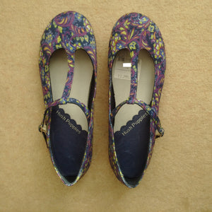 Hush Puppies Girls Mary Jane Floral Shoes