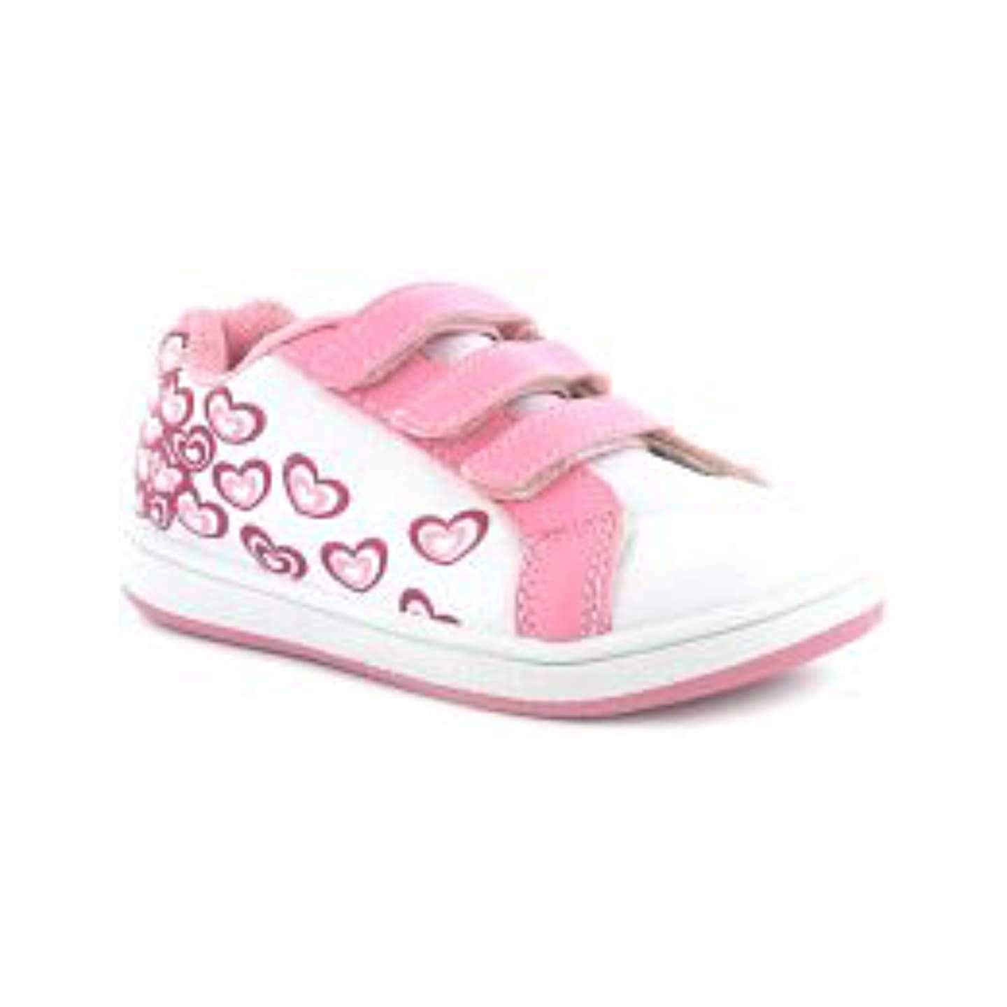 Princess Stardust Stella Love Hearts Girls Trainers