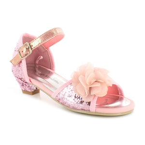 Princess Stardust Younger Girls Crystal Pink Party shoes