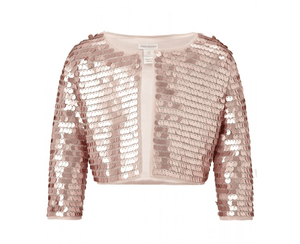 Monsoon Girls Sequinned Bolero Zooey Jacket