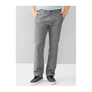 GAP Tapered-fit khaki Grey - Stockpoint Apparel Outlet