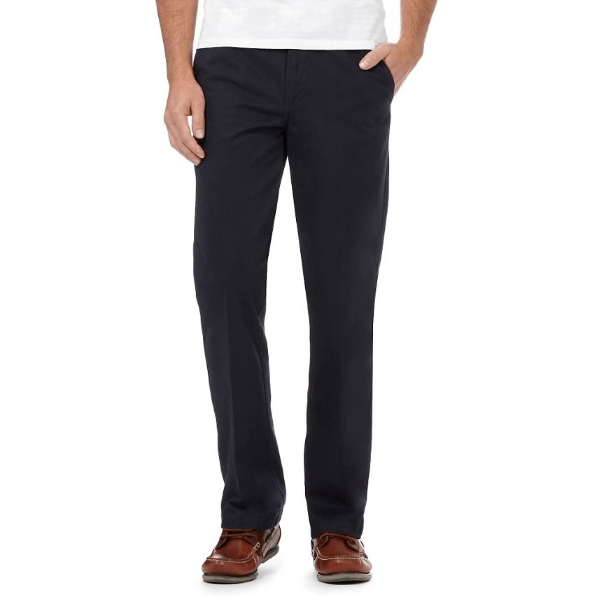Maine New England - Navy Chinos Trousers - Stockpoint Apparel Outlet