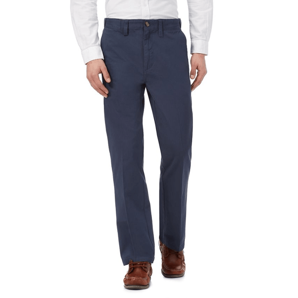 Maine New England - Blue Chino Trousers - Stockpoint Apparel Outlet