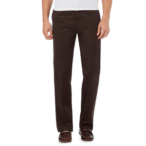 Maine New England - Chocolate Tailored Fit Chinos - Stockpoint Apparel Outlet