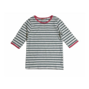 Next Pink Turquoise Stripe Tees - Stockpoint Apparel Outlet