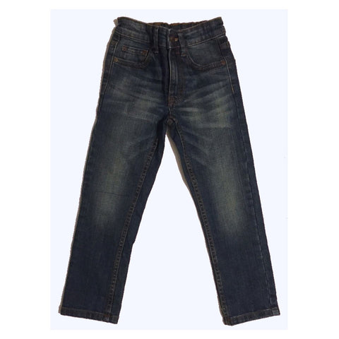 Next Boys Blue Wash Rip Jeans