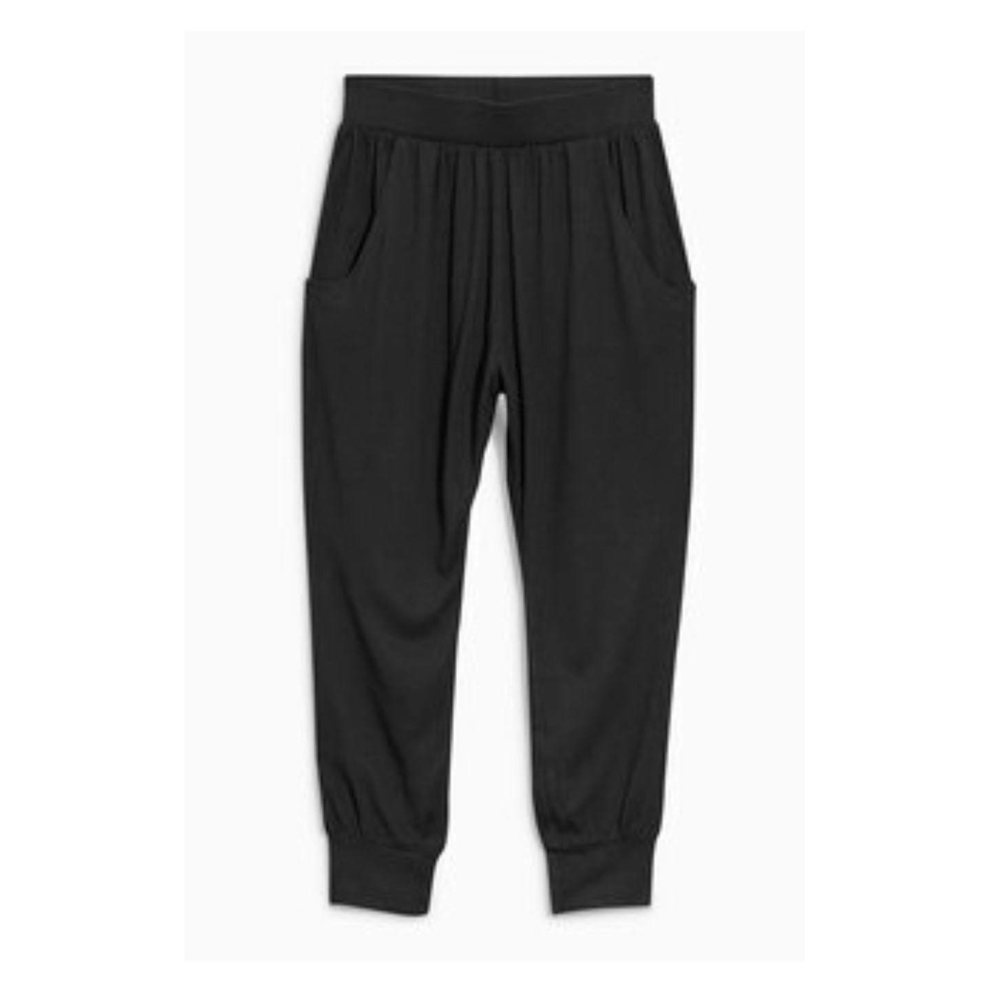 Next Girls Black Traveller Pants - Stockpoint Apparel Outlet