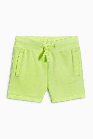 Next Fluro Yellow Shorts - Stockpoint Apparel Outlet