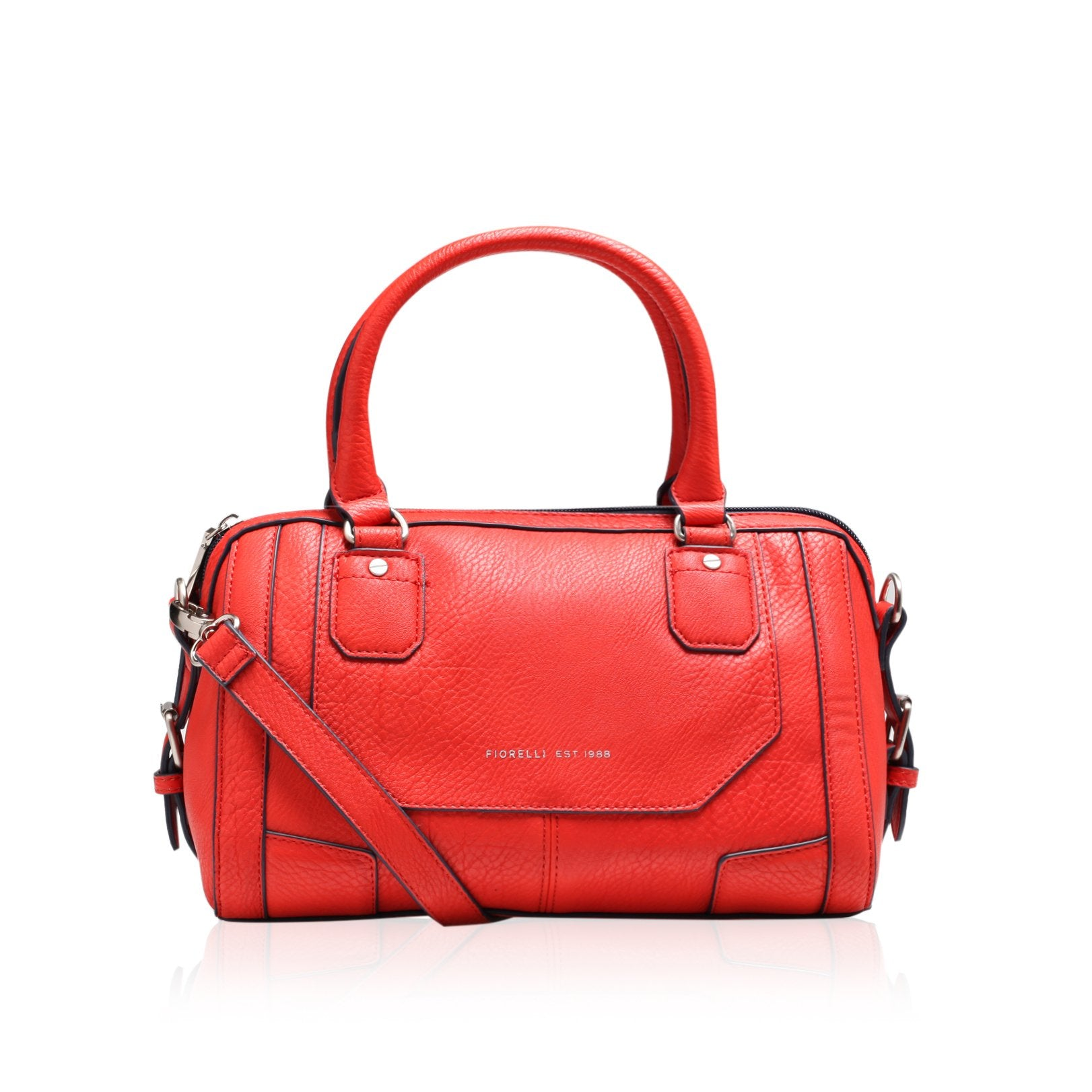 Fiorelli Lulu Womens Red Bowler Bag