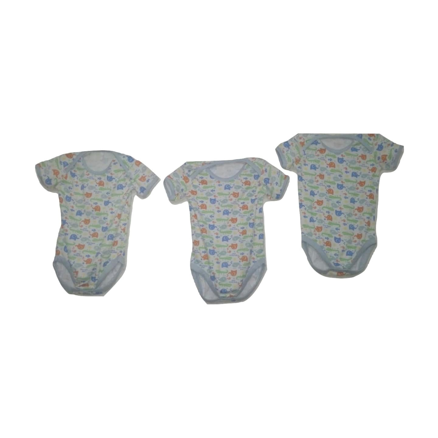 Little Elephant Design Bodysuit - 3 Piece Set - Stockpoint Apparel Outlet