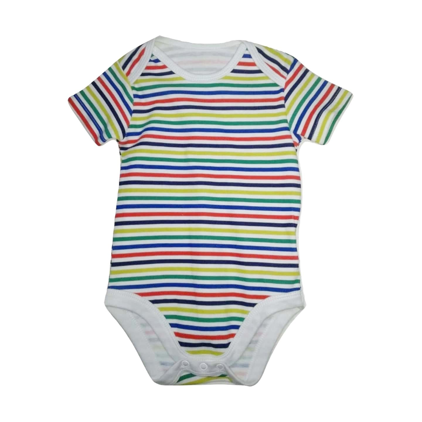 Nutmeg Multistriped Bodysuit - Stockpoint Apparel Outlet