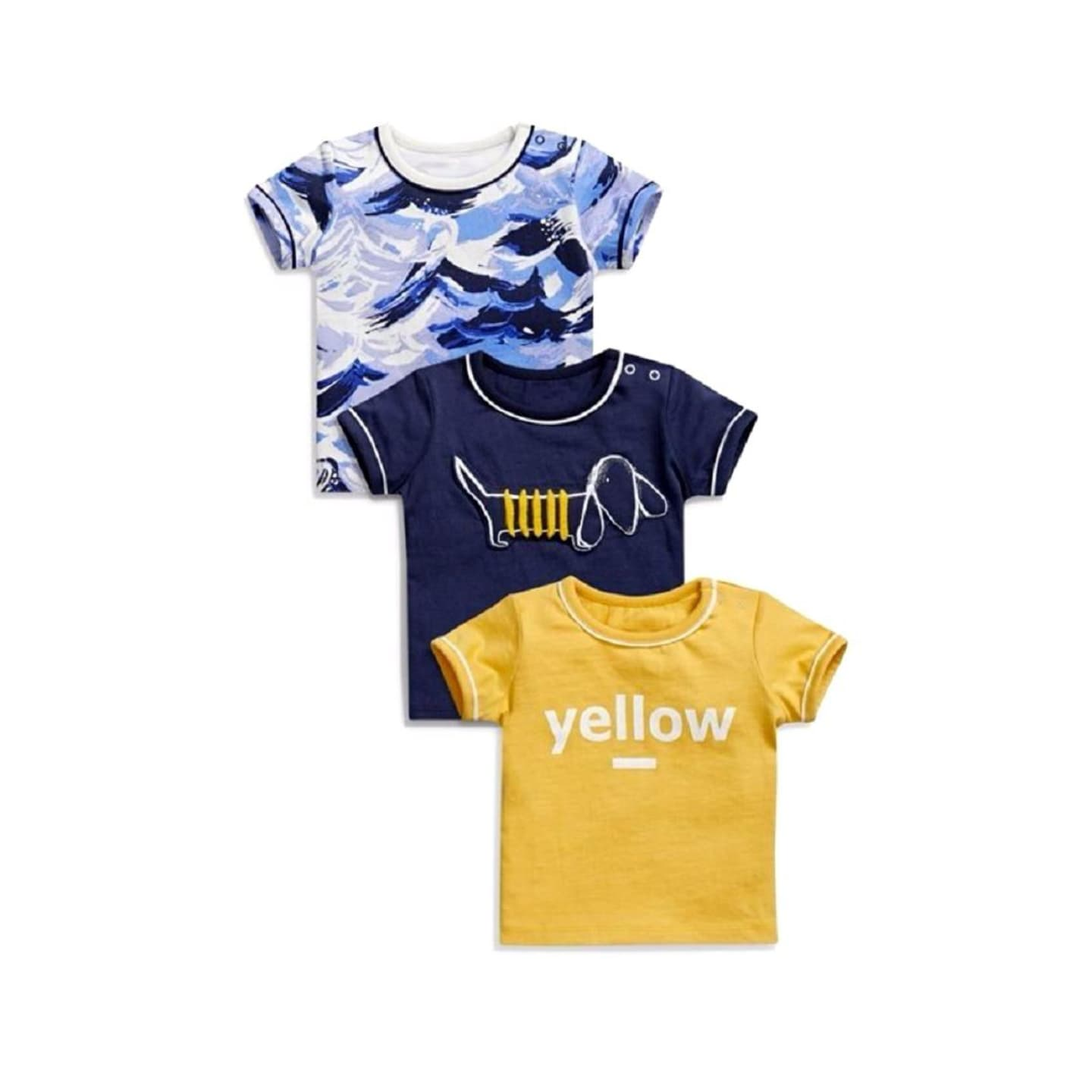 NEXT Baby T-Shirts 3 pack - Stockpoint Apparel Outlet