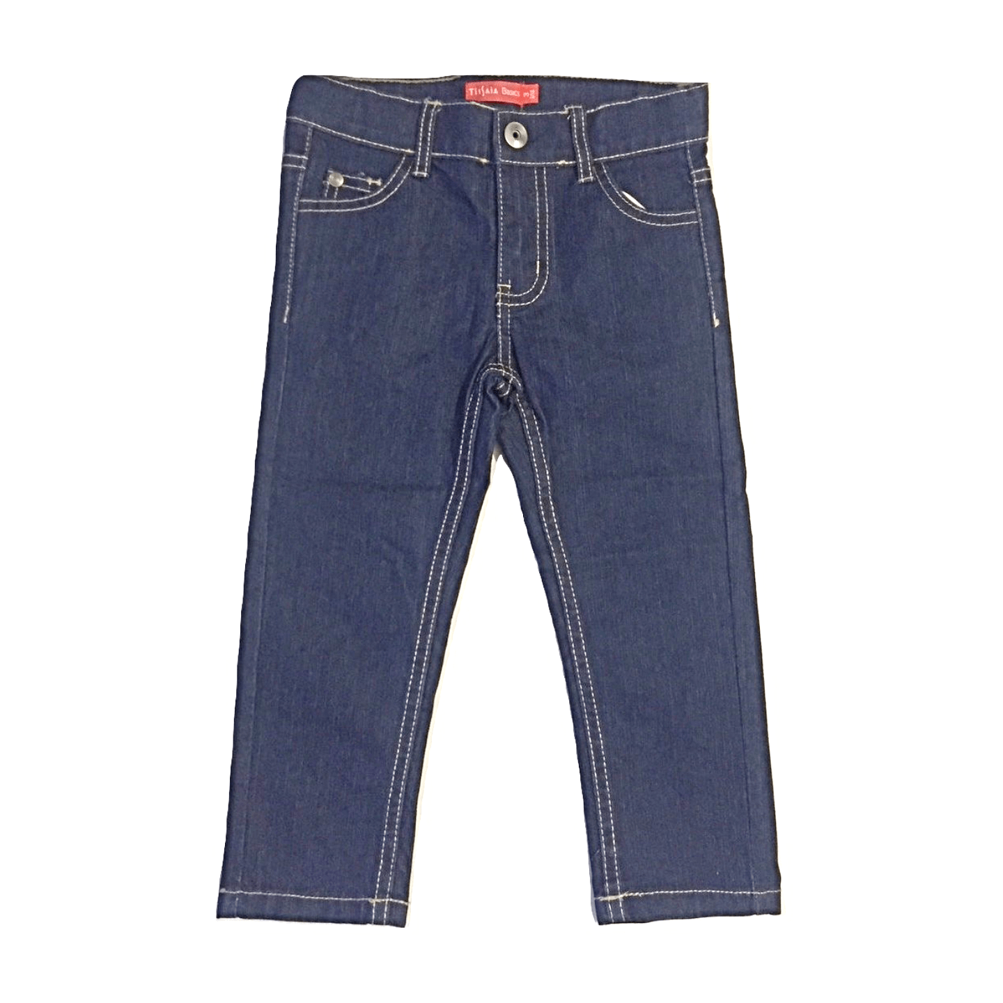 Tissaia Basic Navy Blue Baby Boys Jeans