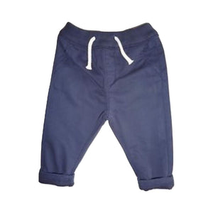 Next Boys Navy Chino Trousers