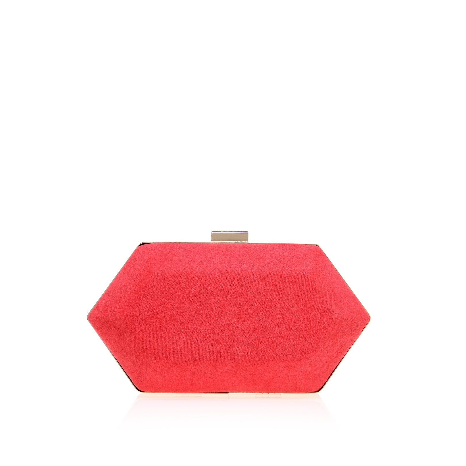 Kurt Geiger Miss KG Pink Jewel Womens Clutch Bag