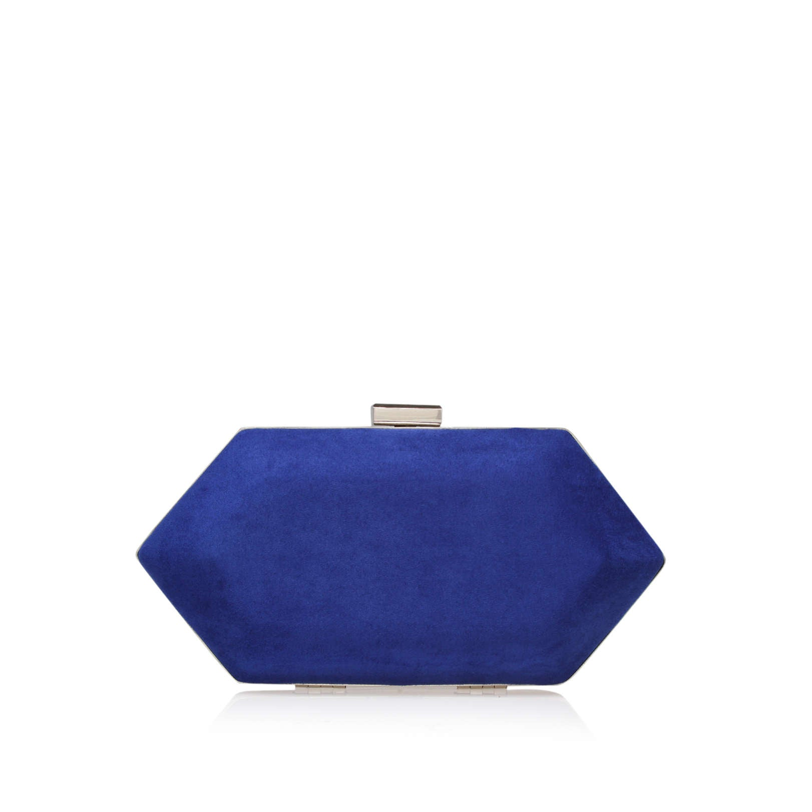 Kurt Geiger Miss KG Jewel 2 Blue Womens Clutch Bag