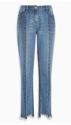 Next Mid Blue Panel Jeans - Stockpoint Apparel Outlet