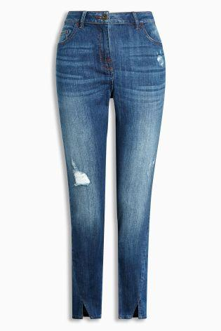 Next Dark Blue Womens Jeans